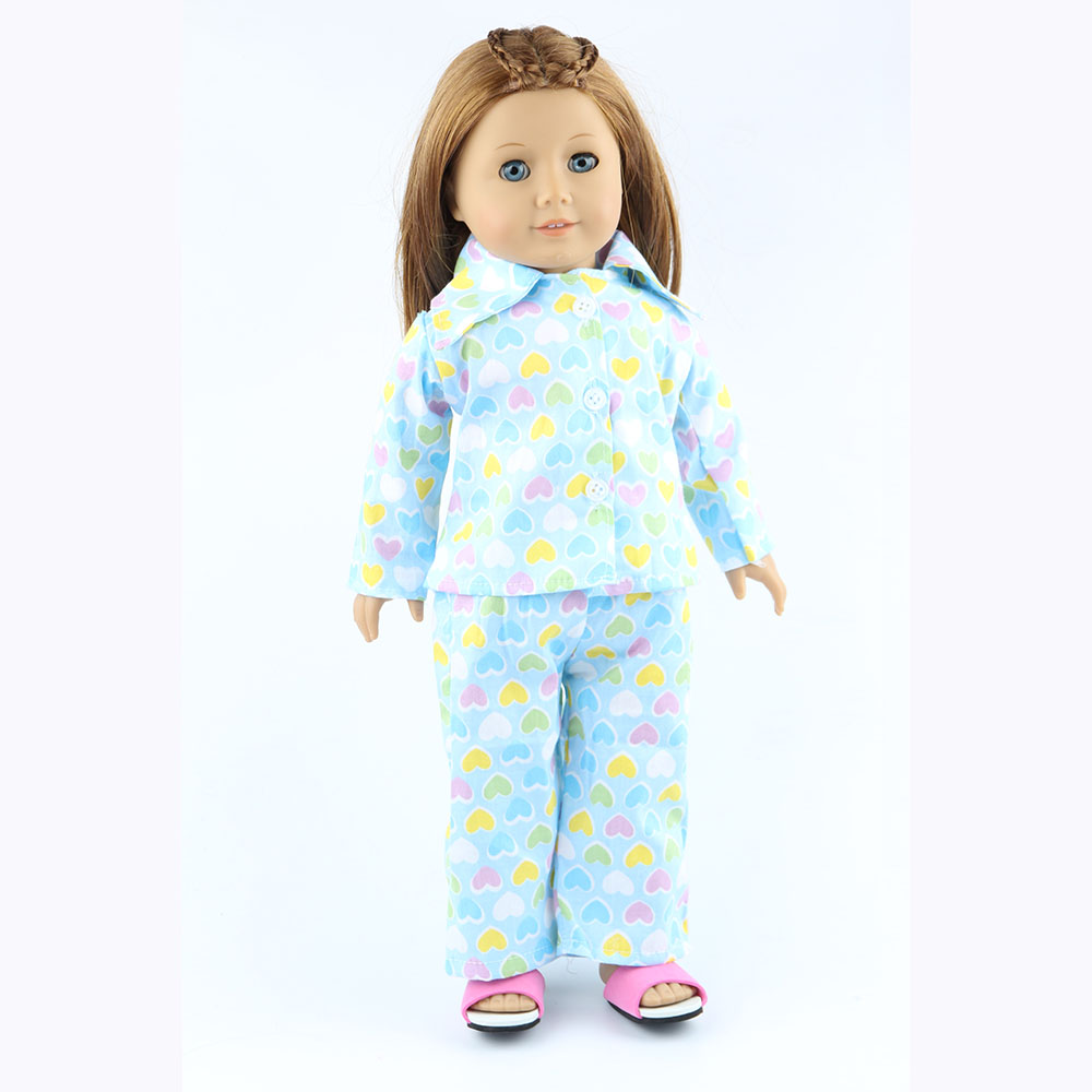 18 inch American girl dolls clothes manually white wedding dresses children Christmas gift free shipping W40
