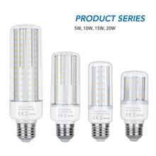 LED Lamp 220V Light Bulb Led E14 Corn Lamp 5W 10W 15W 20W Led Bulb E27 SMD 2835 No Flicker Indoor Lighting Chandelier Bombillas