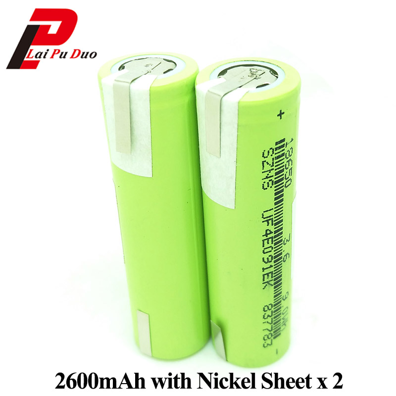 18650 Battery 3.6V 2600mAh Rechargeable li-ion batteries Nickel Sheet for Power Bank Laptop flashlight Batteria ICR18650 otis redding otis redding shake