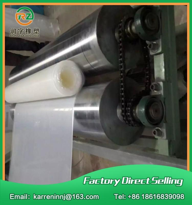 1260x2300mm épaisseur 2mm feuille de caoutchouc de silicone machine à plastifier chaleur résister tapis en caoutchouc de silicone