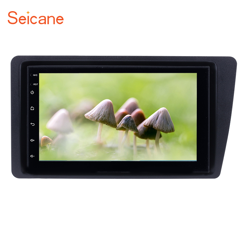 Seicane Android 8 1 7 Wifi Car Radio GPS Navigation Multimedia Player Head Unit For Honda