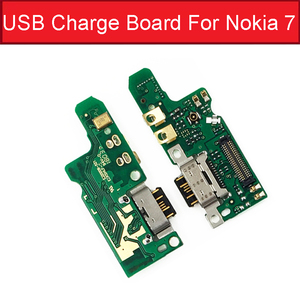 Image 3 - Charger USB Jack Board For Nokia 2 2.1 3 3.1 Plus 5 5.1 6 6.1 7 7.1 Plus 8 Charging USB Port Board Module Replacement Parts