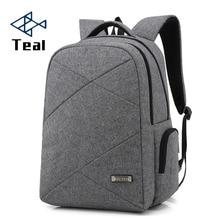 2017Multifunction Canvas Men's Backpack Bag Brand 14.1Inch Laptop Notebook for Men Waterproof Back Pack school backpack bag