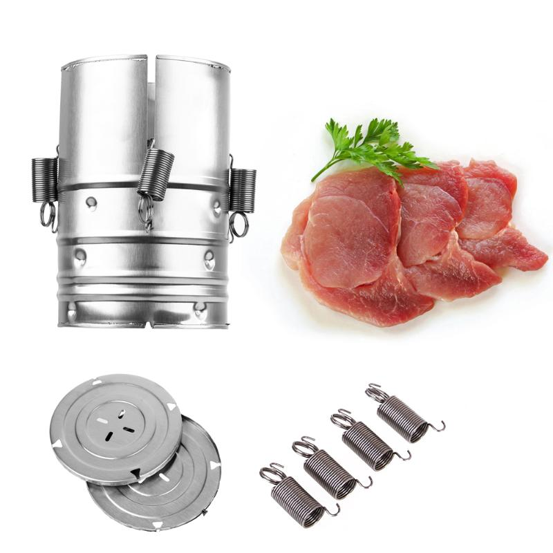 Ham Press Maker Stainless Steel Round Shape Machine Seafood Meat Poultry Tools for Family Ham PressTools