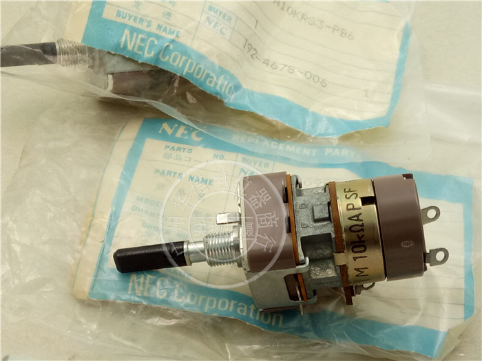 Original new 100% Japan import RV24N25FA10KRS3-PB6 swith switch single potentiometer A10K axis length 25MMF original new 100% japan import evbjxbd15460 track 90cm straight rod sliding potentiometer dual a20k 2 axis 15mm switch