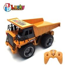 Hot Sale Kids 2.4G Model Car 6 Channels 1:18 Charging mini rc Dump Truck Remote Control carro de controle remoto