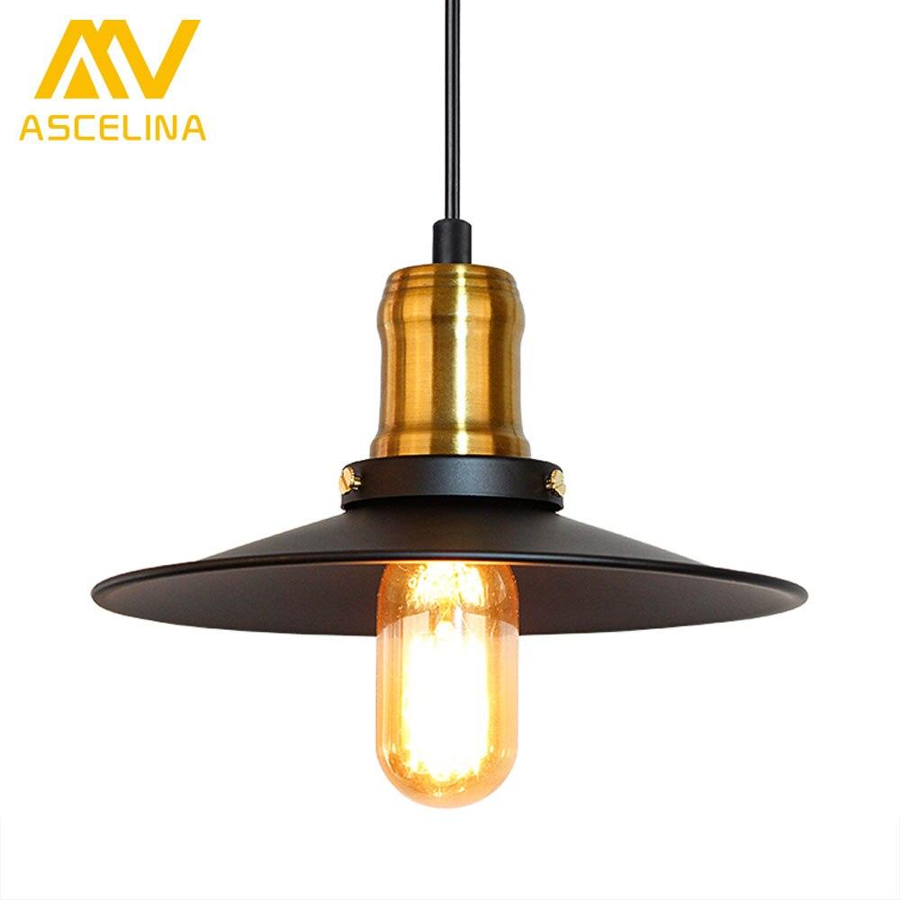 ASCELINA led pendant lights loft retro Pendant Lamp Christmas decorations for home black light fixtures industrial lighting E27