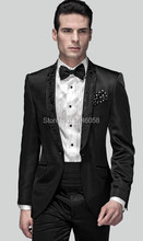 2016 Popular Custom Morning Suit Groom Groom Tuxedos Groomsmen Slim Fit Best Man Suit Men Wedding Suits Jacket+Pants+Girdle+Tie