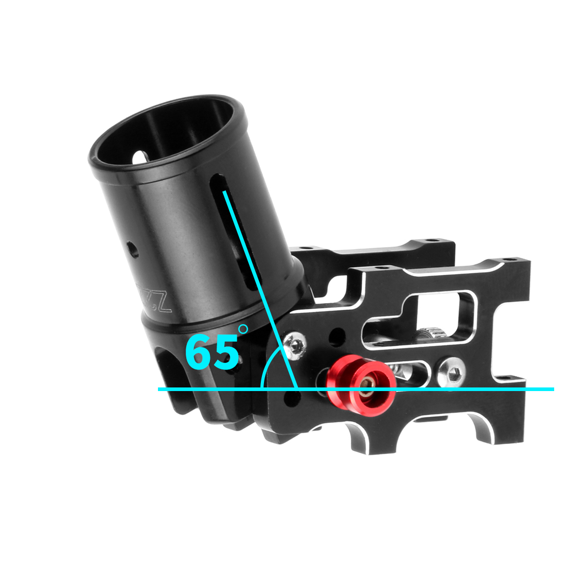 1PC 22mm 16mm Aluminum Alloy Folding Frame Arm Foldable Tube Connector Joint for Landing Gear RC Multicopter Drone Parts in Drone Accessories Kits from Consumer Electronics