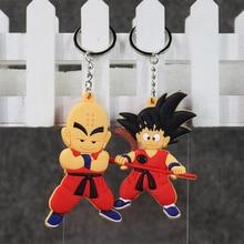 Dragon Ball Cute Son Gohan & Krillin Keychain Pendant