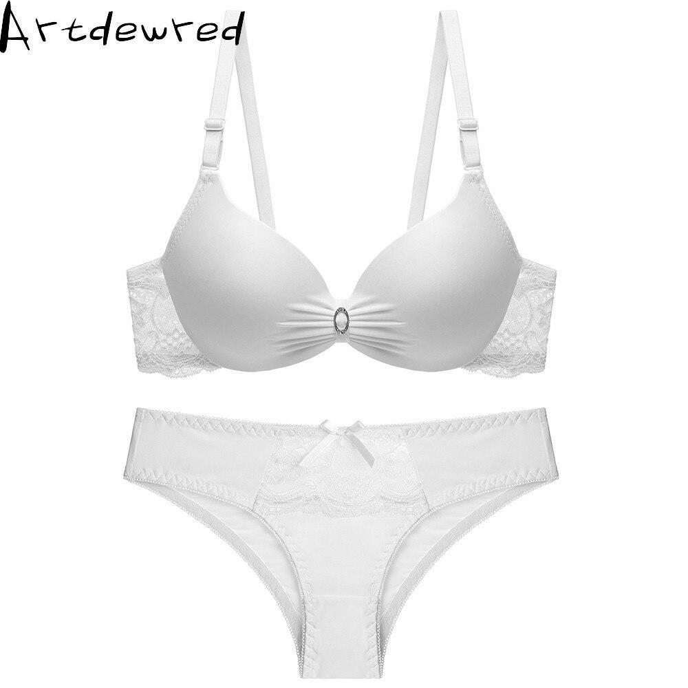 Women Lace Lingerie   Set   Plus size   Bra   Push up Beautiful Underwear Seamless Female   Bras   Intimate Sexy Lingerie   Set