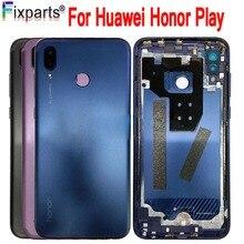 100% Originale Huawei Honor Gioco Posteriore del Portello Della Batteria Della Copertura Dellalloggiamento Onore Giocare Caso Huawei Honor Gioco Copertura di Batteria del Portello di Ricambio