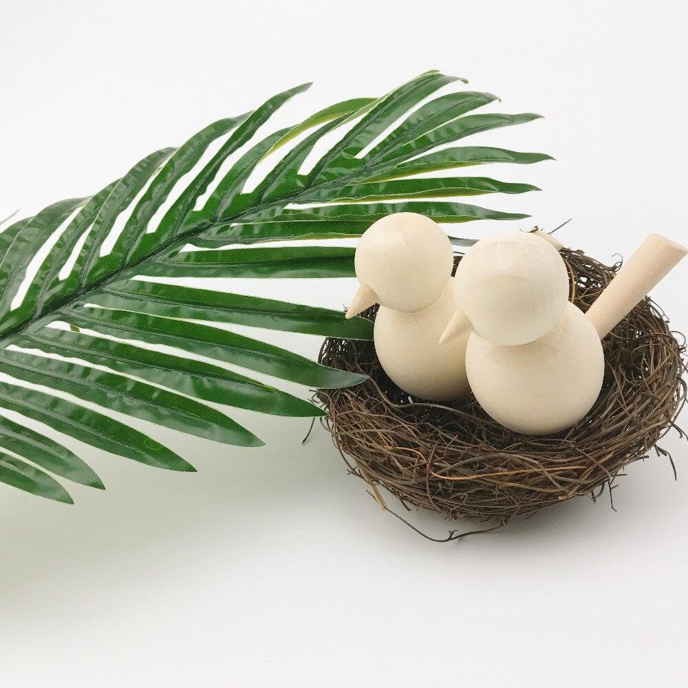 Wooden Blanks Crafts Best Europe Kids Painted DIY Gifts Chicken Decoration Handmade Maple Wood Unpainted Children Toys