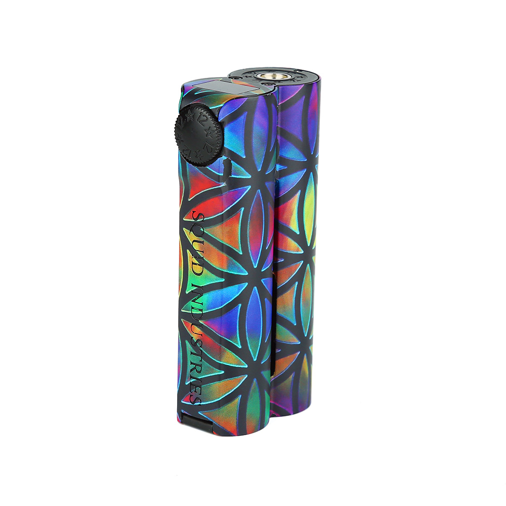 NEW Heavengifts Squid Industries Double Barrel V3 150W VW MOD Fat Top Design E-cig Mod with OLED Display VS Drag 2 / LUXE ModNEW Heavengifts Squid Industries Double Barrel V3 150W VW MOD Fat Top Design E-cig Mod with OLED Display VS Drag 2 / LUXE Mod