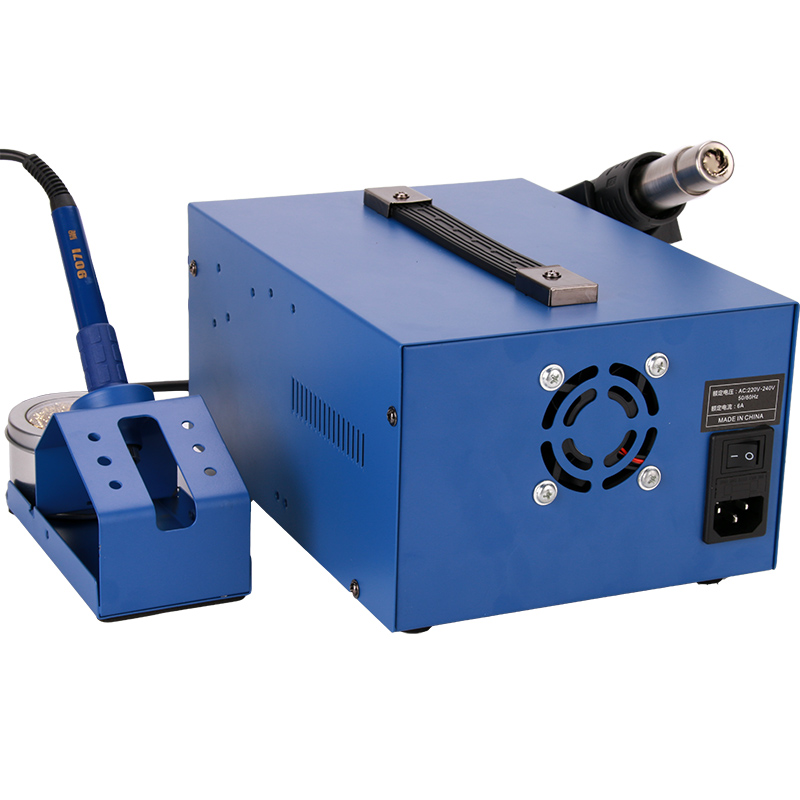 Tools : A-BF Rework Digital Soldering Station Upgrade SMD 3-IN-1 Mobile PCB Repair Hot Air Welding Station Power Supply Soldering Iron