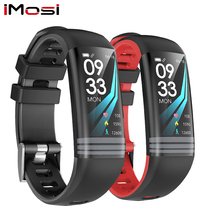 Imosi G26S Android IOS Heart Rate Fitness Bracelet Sleep Monitor Fitness Tracker Color Screen Watch Multi Sports Mode Band цена