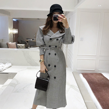 Fashion women comfortable warm long coat new arrival high quality OL temperament outerwear thick hol