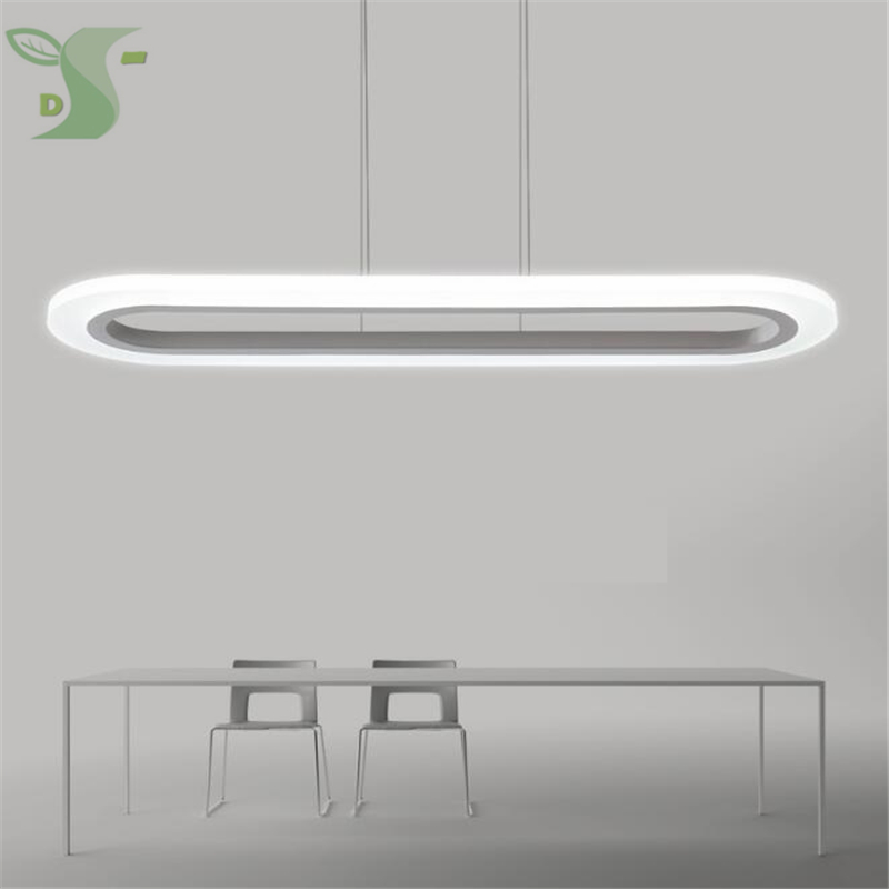 LED chandelier 30w/40w oval Ultra-Thin Modern AC85-265v dimmable Led Light for Living Room/Bedroom/Restaurant study led modern chandelier light led circle ring chandelier for home living lighting dimmable and nondimmable ac85 265v free freight