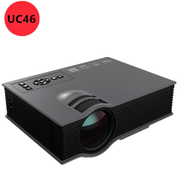 Sale 2016 newest unic uc46 wifi portable led video home for Best wireless mini projector