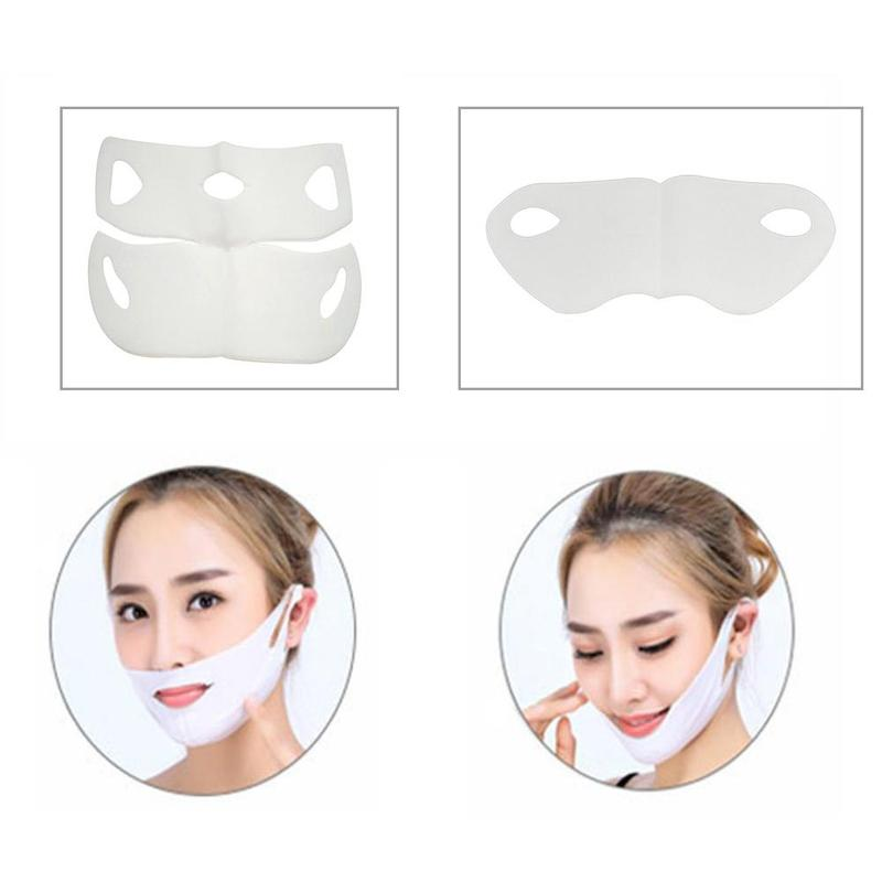 1pcs Face Miracle Slimming Mask Facial Miracle V-Shaped Lifting Facial Neck Miracle Mask Face Firming Skin Care Tool 2