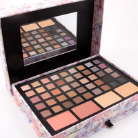 1 Set Professional Makeup Palette In Pink Box With Eyeshadow Concealer Powder Lipstic Kit Makeup Beauty Cosmetic Gift