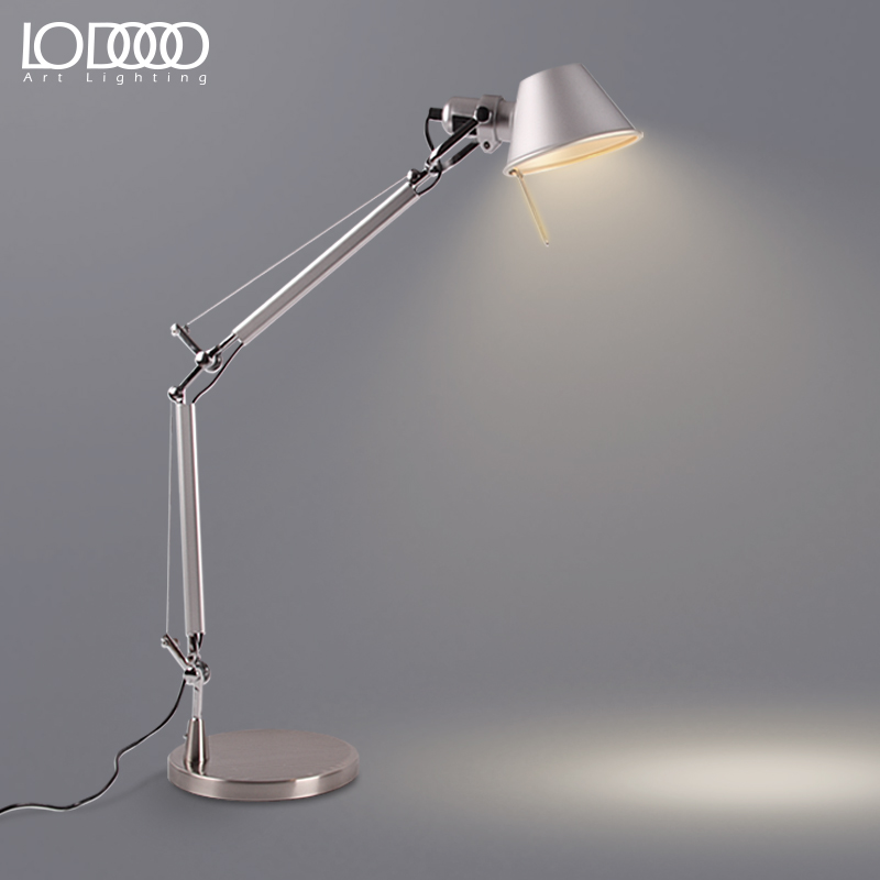LODOOO Long Swing Arm Desk Lamp Led Table Lamp Office Led Reading Light Home Table Lamp  Adjustable Angle  Table Lamp 67050 hanging on the support arm swing arm control arms factory swing