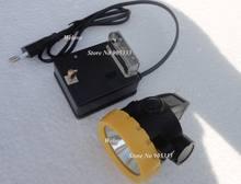 Новая светодиодная Шахтерская лампа беспроводная фара бесплатная
