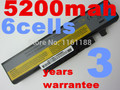 5200 мАч аккумулятор для НОУТБУКА LENOVO IdeaPad B560 Y460 V560 Y560 Y460A Y460AT Y460P Y460C Y460N Y560 Y560A Y560P L10S6Y01 57Y6440