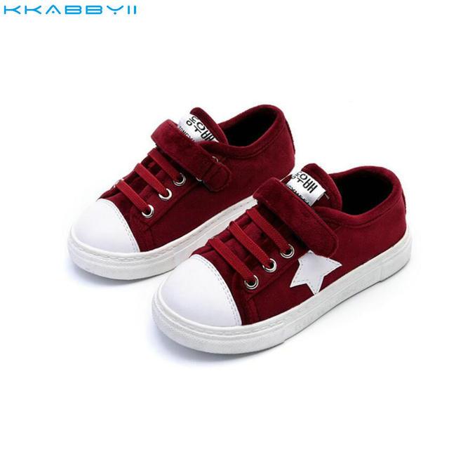 805f859d9cf18 KKABBYII Nowe Markowe Buty Dla Dzieci Dzieci Chłopcy Dorywczo Dzieci  Sneakers Stars Płaskie Buty Sportowe Mody