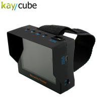 kaycube Wristband Portable 3.5 TFT LCD CCTV Security Video Camera Tester Test Monitor Built in 2200mAh Lithium battery PAL/NTSC