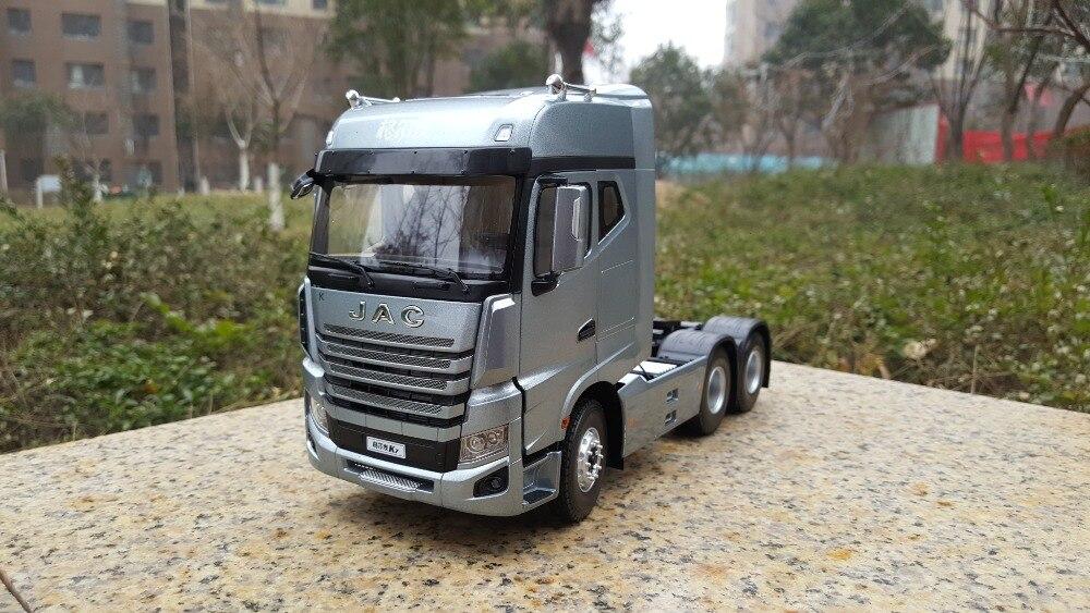 Requintado, Collectible Modelo Liga Presente 1:24 Relação K7 JAC GALLOP Reboque Caminhão Trator Veículos DieCast Toy Modelo para Decoração
