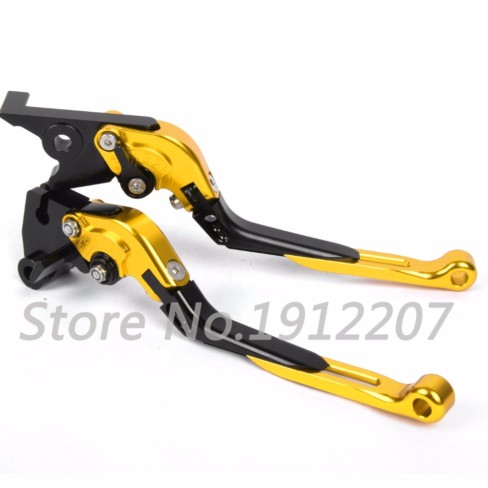 ФОТО For Suzuki B-KING 2008-2011 Foldable Extendable Brake Clutch Levers Aluminum Alloy CNC Folding&Extending Motorbike Brakes 2010