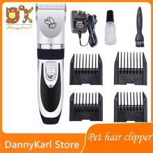 DannyKarl Four Colors Hair Trimmer Electrical Pets Hair Cut Rechargeable Pet Hair Clipper Remover Cat Dog zowael rfc 280a electric rechargeable hair trimmer pet cat dog fur clipper
