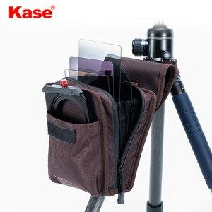 Image 3 - Kase serie de 100mm Filtro de lona funda protectora suave estuche bolsa para filtros cuadrados de 100x100mm 100x150mm, puede contener 10 filtros