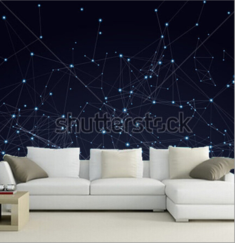 Custom 3D murals,Line and point structure papel de parede,living room sofa TV wall children bedroom wall paper custom papel de parede infantil see graffiti mural for sitting room sofa bedroom tv wall waterproof vinyl which wallpaper