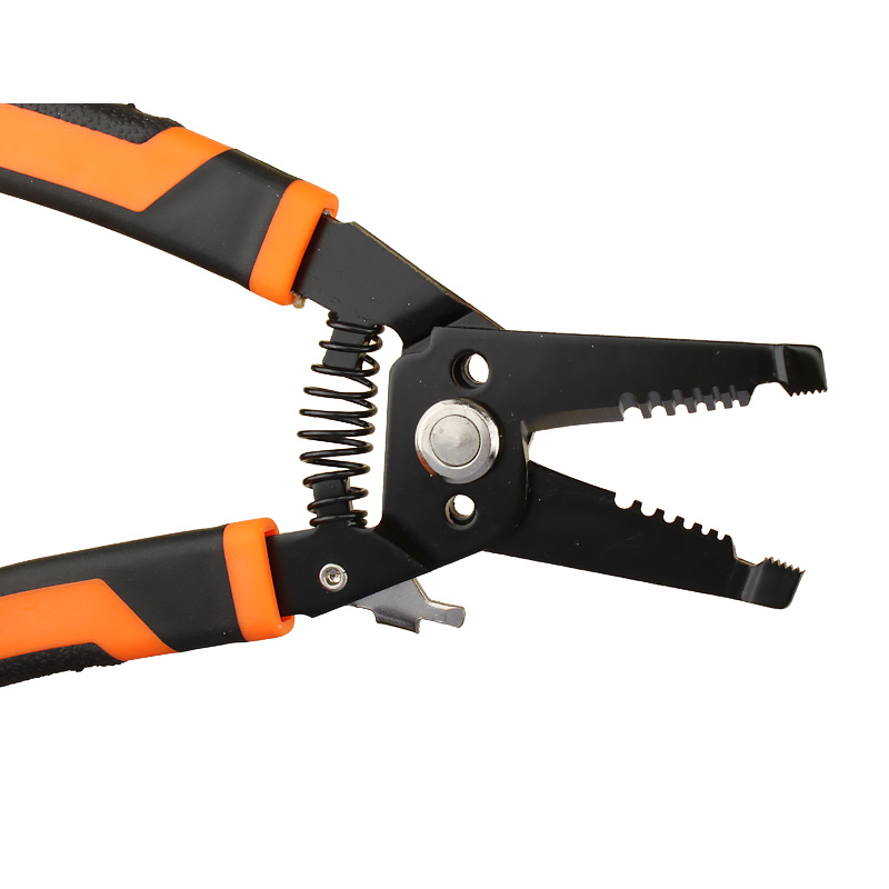 Wire Stripper and Cutter 7\'\' ,Cuts, strips wire and loops 10 20 AWG ...
