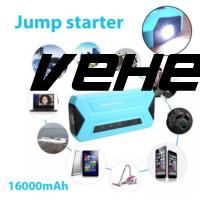 Vehemo Dual USB Battery Jumper Starter Power Pack Jumper Starter Multi-Function Booster Charger Battery Charger Car Universal