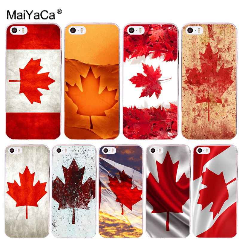 MaiYaCa Canada flag Cute Phone Accessories Case for Apple iphone 11 pro 8 7 66S Plus X 5S SE XR XS XS MAX Cover
