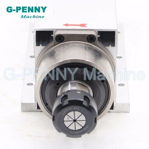 Image 2 - New Product ! 220v 2.2kw ER25 air cooled spindle 4 pcs bearings Ceramic ball bearings high quality 0.01mm & 2.2kw VFD/Inverter