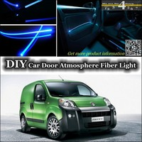 For Fiat Fiorino / Qubo 2007~2015 interior Ambient Light Tuning Atmosphere Fiber Optic Band Lights Inside Door illumination|light inside|fiorino fiat|light ambient -