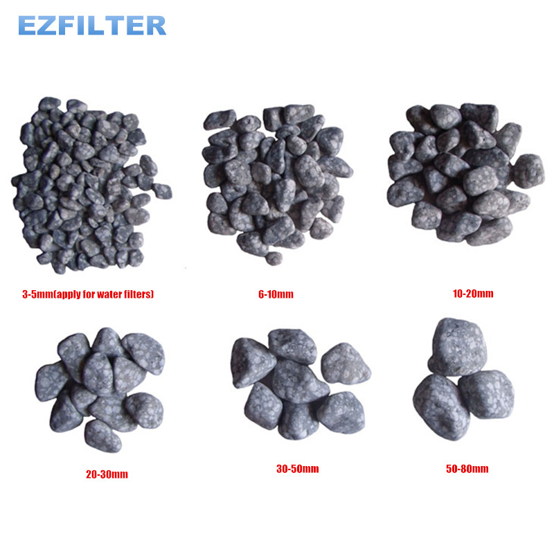 China Natural Medical Stone Particles Maifan Stone Used for Water Filtration System RO System Aquarium