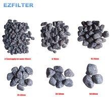Partículas de piedra medicinal Natural de China y piedra Maifan utilizada para el sistema de filtración de agua/sistema RO/Acuario