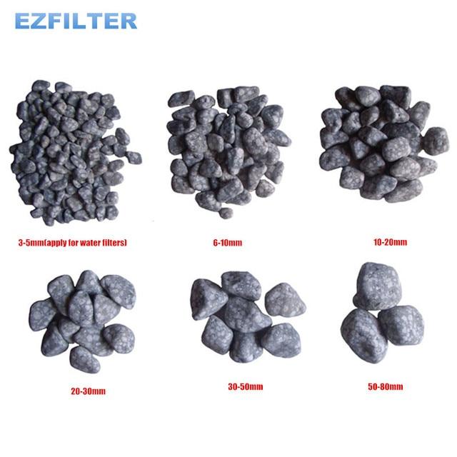 중국 자연 의료 돌 입자 및 maifan 돌 물 여과 시스템/ro 시스템/수족관에 사용