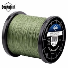 SeaKnight TRIDENT 1000M 4 Strands Fishing Line Extreme Strong Braid Fishing Line PE Multifilament 8-80LB Saltwater Freshwater