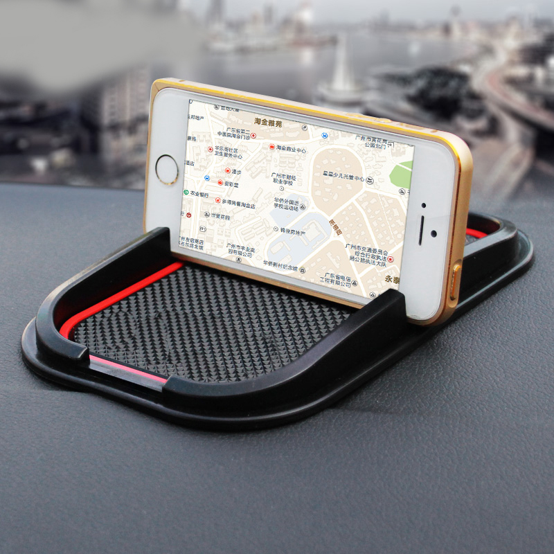 Car rubber phone mat GPS support Car Accessories For BMW X1 X3 X4 X5 X6 F15 F16 F20 F30 F25 F26 F10 E90 E46 F10 F01