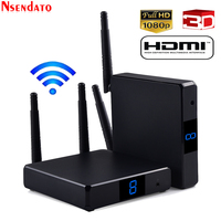 Measy FHD686 5.8GHz 200M/660 FT Dual Antenna Wireless HDMI Video Audio Transmitter Sender Receiver Extender For TV DVD Projector