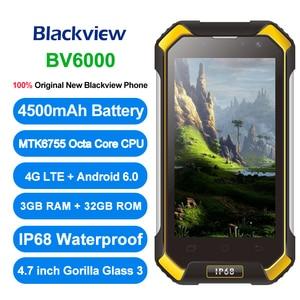 """Image 2 - Ban Đầu Camera Hành Trình Blackview BV6000 4G LTE Octa Core IP68 Chống Nước Smartphone 4.7 """"3 GB + 32GB NFC 4500 MAh Android 6.0"""