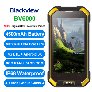 "Image 2 - Originele Blackview BV6000 4G LTE Octa Core IP68 Waterdichte Smartphone 4.7 ""3 GB + 32GB NFC 4500mAh Android 6.0 Mobiele Telefoon"