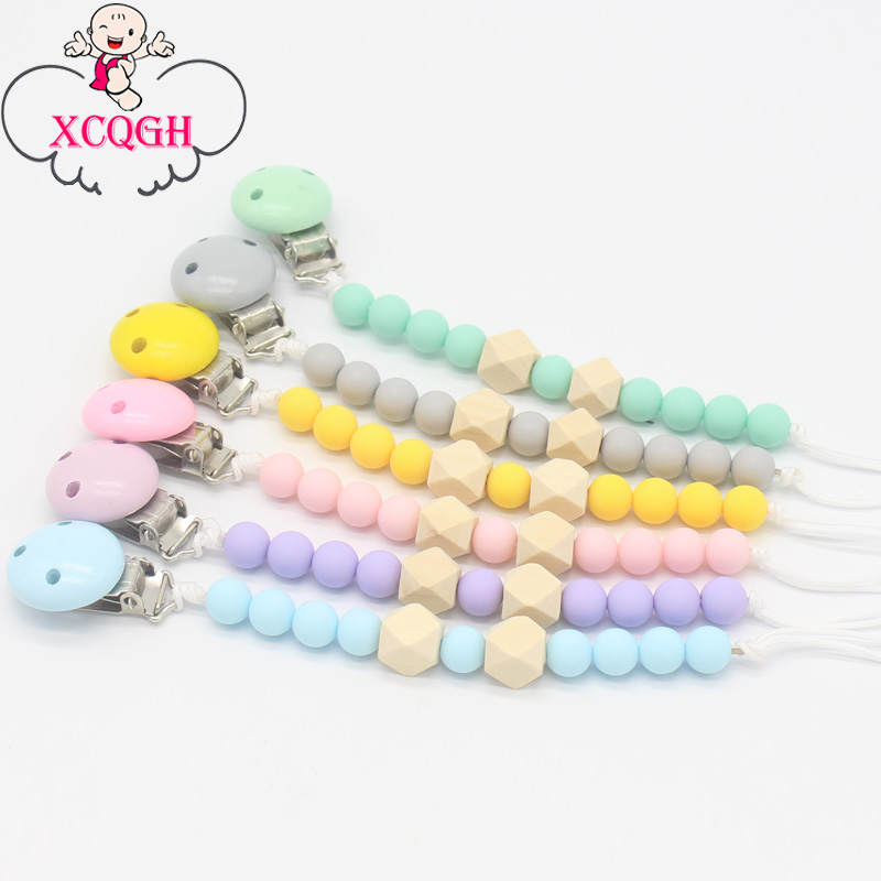 Feeding Mother & Kids Colorful Flower Chain Baby Pacifier Soother Handmade Silicone Dummy Clip Rose Pacifier Clip Chain Nursing Shower Toy For Kids Yet Not Vulgar