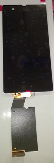 ФОТО New for Sony Xperia Z L36H L36i Screen LCD with Digitizer Touch Assembly original lcd and flex free shipping DHL